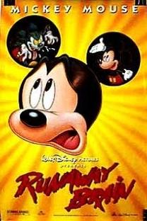 Mickey e seu Cérebro em Apuros - Poster / Capa / Cartaz - Oficial 1