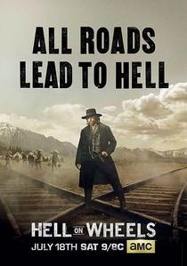 Hell on Wheels (5ª Temporada) - Poster / Capa / Cartaz - Oficial 1