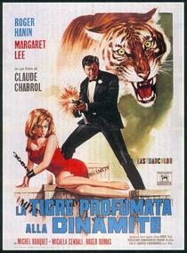 O Tigre se perfuma com dinamite - Poster / Capa / Cartaz - Oficial 1