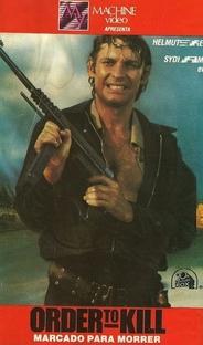Order to Kill - Marcado Para Morrer - Poster / Capa / Cartaz - Oficial 1