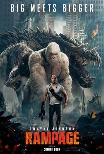 Rampage: Destruição Total - Poster / Capa / Cartaz - Oficial 9