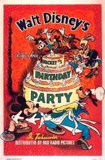 A Festa de Aniversário do Mickey - Poster / Capa / Cartaz - Oficial 1
