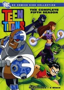 Os Jovens Titãs (5ª Temporada) - Poster / Capa / Cartaz - Oficial 1