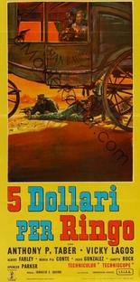 5 Dólares para Ringo - Poster / Capa / Cartaz - Oficial 1