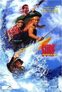 Surfistas Ninjas  - Poster / Capa / Cartaz - Oficial 1