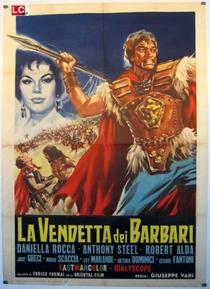 Vingança dos bárbaros - Poster / Capa / Cartaz - Oficial 1