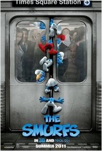 Os Smurfs - Poster / Capa / Cartaz - Oficial 1