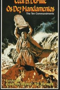 Os Dez Mandamentos - Poster / Capa / Cartaz - Oficial 4
