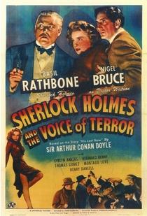 Sherlock Holmes e a Voz do Terror - Poster / Capa / Cartaz - Oficial 1