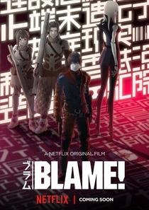 BLAME! - Poster / Capa / Cartaz - Oficial 1