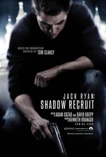 Operação Sombra - Jack Ryan - Poster / Capa / Cartaz - Oficial 2