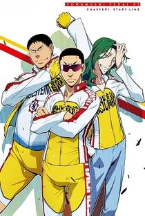 Yowamushi Pedal (1ª Temporada) - Poster / Capa / Cartaz - Oficial 3