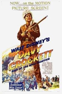 Davy Crockett, O Rei das Fronteiras - Poster / Capa / Cartaz - Oficial 2