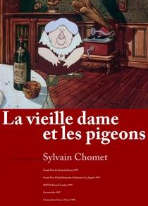 A Velha Senhora e os Pombos - Poster / Capa / Cartaz - Oficial 1