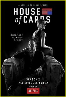 House of Cards (2ª Temporada) - Poster / Capa / Cartaz - Oficial 4