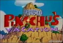 As Férias de Pikachu - Poster / Capa / Cartaz - Oficial 3