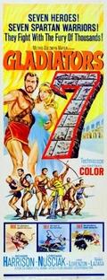 Os Sete Gladiadores - Poster / Capa / Cartaz - Oficial 2