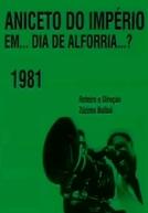 Dia de Alforria (Aniceto do Império em... Dia de Alforria...?)