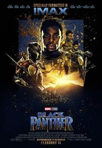 Pantera Negra - Poster / Capa / Cartaz - Oficial 10