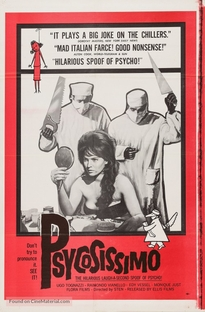 Psicosissimo - Poster / Capa / Cartaz - Oficial 2