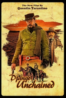 Django Livre - Poster / Capa / Cartaz - Oficial 4