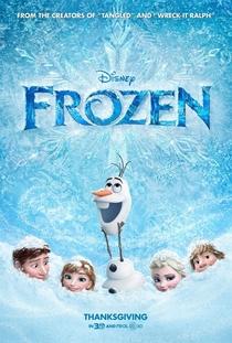 Frozen - Uma Aventura Congelante - Poster / Capa / Cartaz - Oficial 1