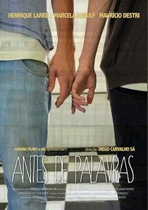 Antes de Palavras - Poster / Capa / Cartaz - Oficial 1