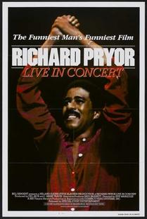 Richard Pryor: Live in Concert - Poster / Capa / Cartaz - Oficial 1