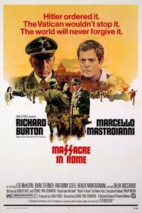 Massacre em Roma - Poster / Capa / Cartaz - Oficial 3
