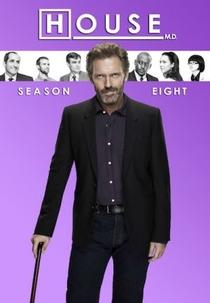 Dr. House (8ª Temporada) - Poster / Capa / Cartaz - Oficial 1