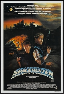 Spacehunter: Aventuras na Zona Proibida - Poster / Capa / Cartaz - Oficial 2