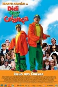 Didi Quer Ser Criança - Poster / Capa / Cartaz - Oficial 1