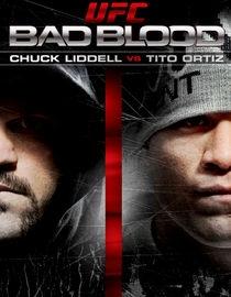 UFC Bad Blood: Chuck Liddell vs. Tito Ortiz - Poster / Capa / Cartaz - Oficial 1