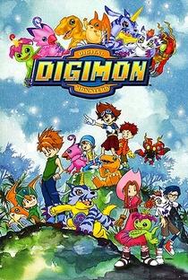 Digimon (1ª Temporada) - Poster / Capa / Cartaz - Oficial 1