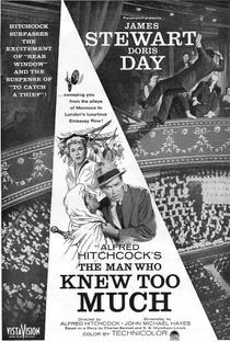 O Homem Que Sabia Demais - Poster / Capa / Cartaz - Oficial 10