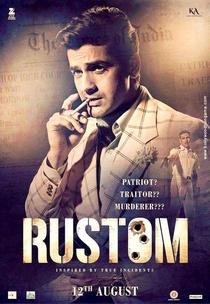 Rustom - Poster / Capa / Cartaz - Oficial 8