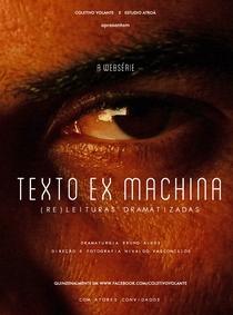 TEXTO EX MACHINA (1ª Temporada) - Poster / Capa / Cartaz - Oficial 1