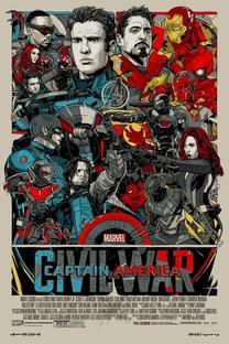 Capitão América: Guerra Civil - Poster / Capa / Cartaz - Oficial 47