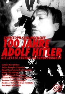 100 Anos de Adolf Hitler - Poster / Capa / Cartaz - Oficial 1