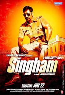 Singham - Poster / Capa / Cartaz - Oficial 2