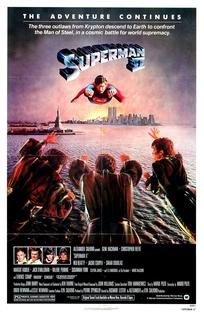 Superman II - A Aventura Continua - Poster / Capa / Cartaz - Oficial 3