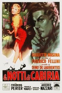 Noites de Cabíria - Poster / Capa / Cartaz - Oficial 11