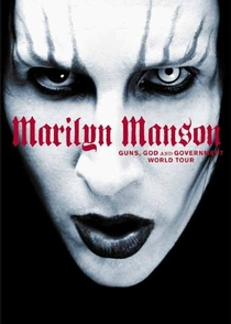 Marilyn Manson - Guns, God and Government - Poster / Capa / Cartaz - Oficial 1