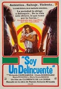 Soy Un Delincuente - Poster / Capa / Cartaz - Oficial 1