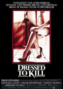 Vestida Para Matar - Poster / Capa / Cartaz - Oficial 1