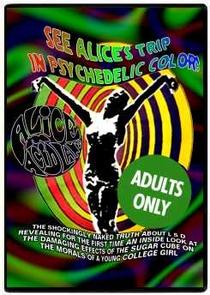 Alice na Terra dos Acidos - Poster / Capa / Cartaz - Oficial 2