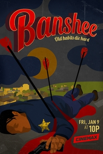 Banshee (3ª Temporada) - Poster / Capa / Cartaz - Oficial 1