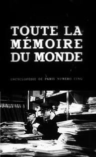 Toda a Memória do Mundo - Poster / Capa / Cartaz - Oficial 1
