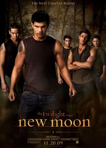 A Saga Crepúsculo: Lua Nova - Poster / Capa / Cartaz - Oficial 8