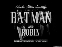 Batman e Robin - Poster / Capa / Cartaz - Oficial 4